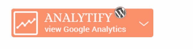 Analytify with Google Analytics Button