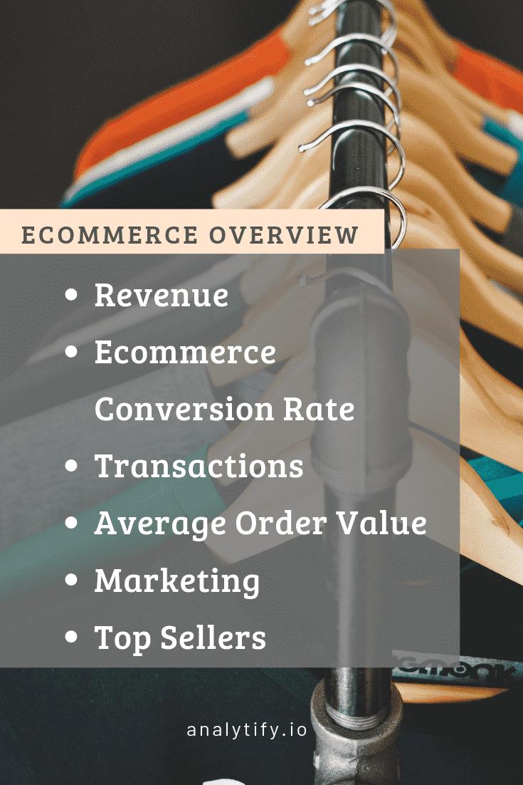 Enhanced ECommerce Reports