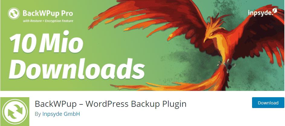 top WordPress Backup Plugins